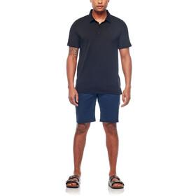 Icebreaker M's Tech Lite SS Polo Shirt black